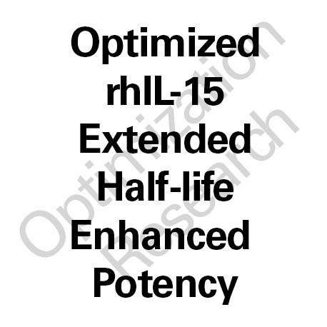 MOD-rhIL-15 Extended Half-Life - Enhanced Potency
