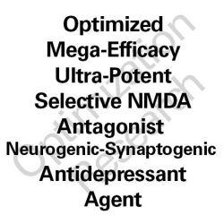 SNRB-MEGA Ultra-Potent Selective NMDA Antagonist Neurogenic-Synaptogenic Antidepressant