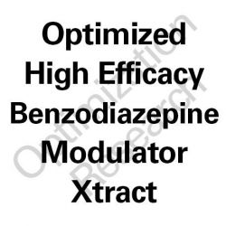 HEBM-OX High Efficacy Benzodiazepine Modulator - Optimized Xtract