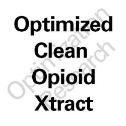 COPE-OX Optimized Clean Opioid Xtract